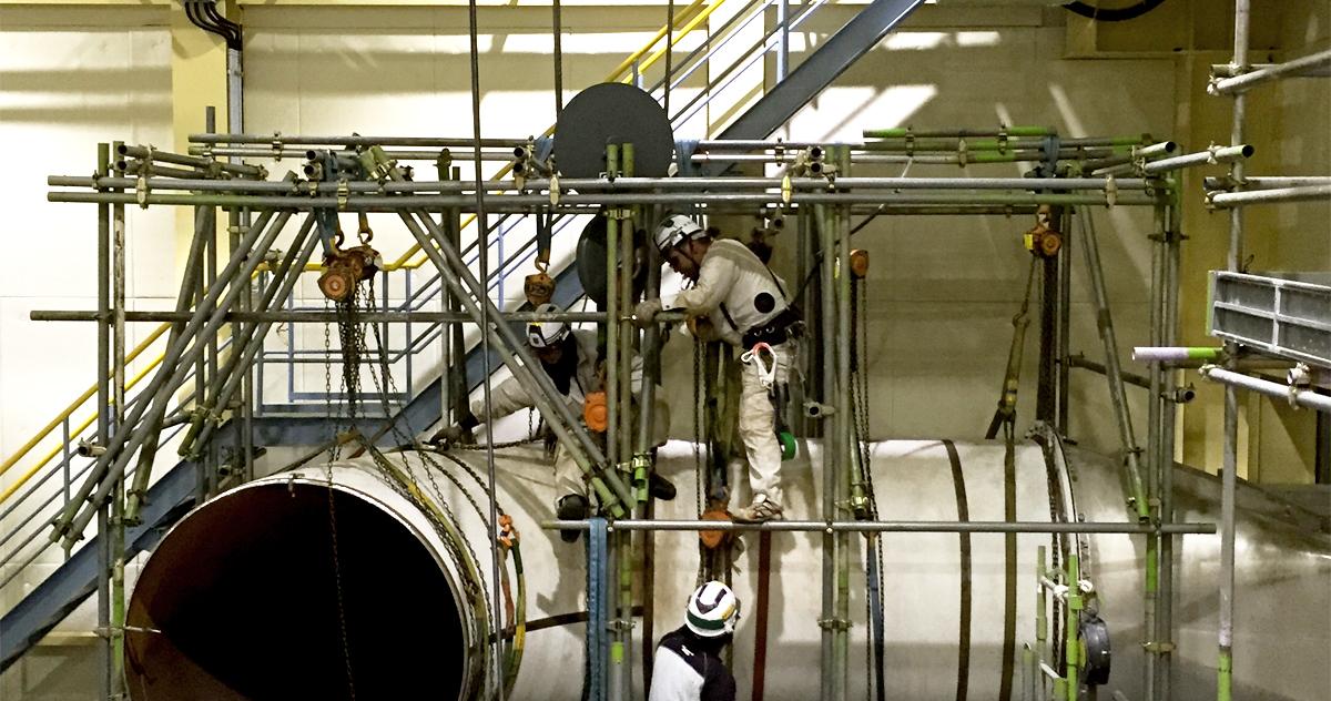 プラント設備の管工事